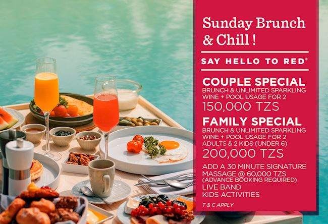 Bubbles & Brunch Package by Ramada Resort Dar es Salaam