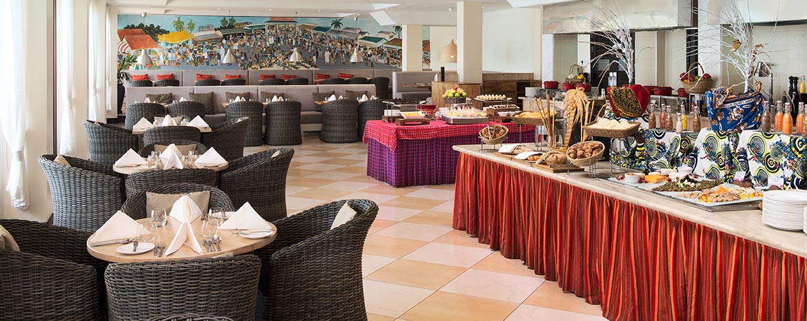 Dining at Ramada Resort Dar es Salaam