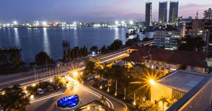 Katikati ya jiji Dar Es Salaam