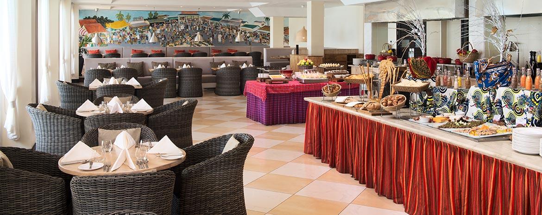 Vyakula ndani ya Ramada Resort Dar Es Salaam