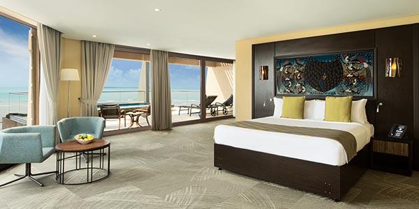 Vyumba vya Upenu wa Kitanzania. Ramada Resort Dar Es Salaam